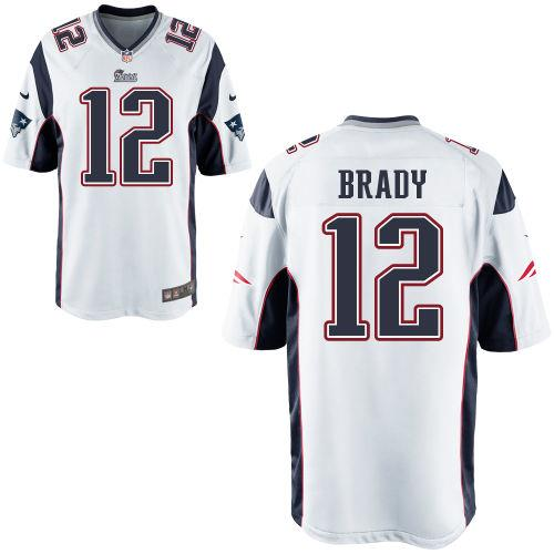 the best attitude 3fb65 50b7f brady jersey white
