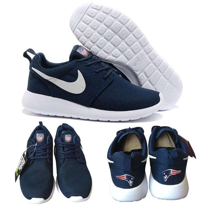 aa3ce498 Nike New England Patriots London Olympics Navy Blue Shoes ...